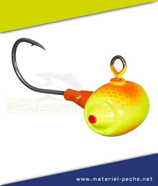TETE PLOMBEE GUNKI G'FOOT FIRECAT ORANGE YELLOW