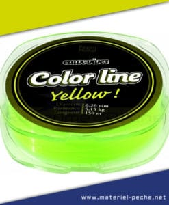 NYLON PEZON ET MICHEL EAUX VIVES CARNASSIER COLOR LINE YELLOW