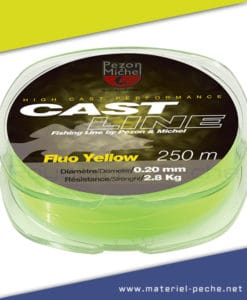 NYLON PEZON ET MICHEL CAST LINE FLUO YELLOW