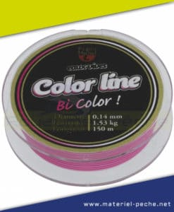 NYLON PEZON ET MICHEL COLOR LINE PINK WHITE