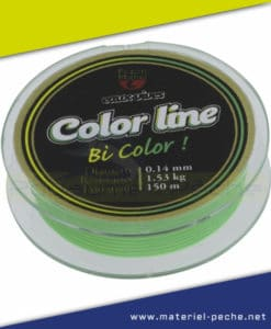 NYLON PEZON ET MICHEL COLOR LINE GREEN YELLOW