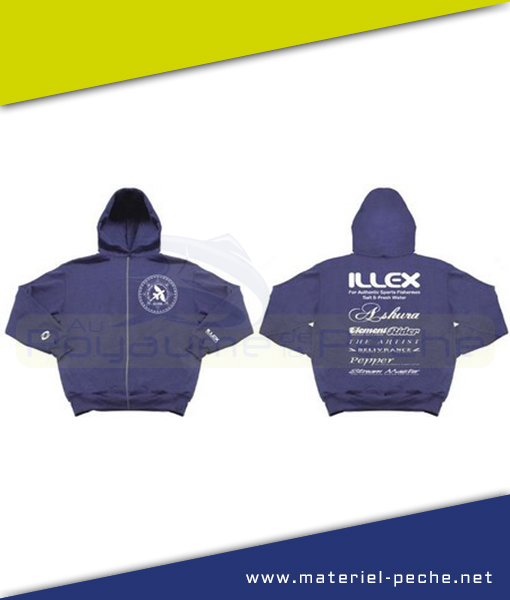 SWEAT CAPUCHE ILLEX TEAM BLUE