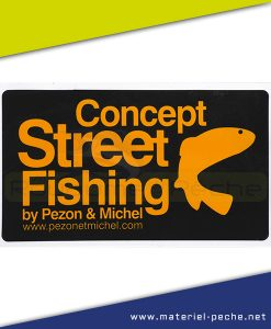 AUTOCOLLANT PEZON ET MICHEL STREET FISHING PM