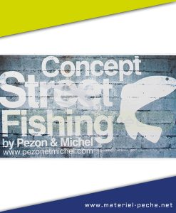 AUTOCOLLANT PEZON ET MICHEL STREET FISHING GM