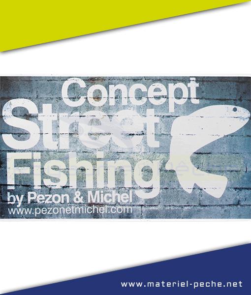 AUTOCOLLANT PEZON ET MICHEL STREET FISHING GM
