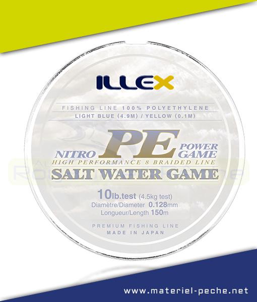 TRESSE ILLEX NITRO PE POWER GAME 150 M