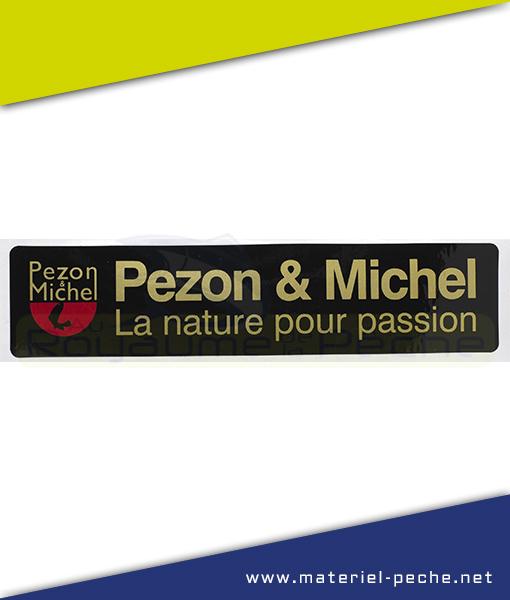 AUTOCOLLANT PEZON ET MICHEL PM
