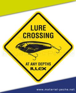 AUTOCOLLANT ILLEX LURE CROSSING PM