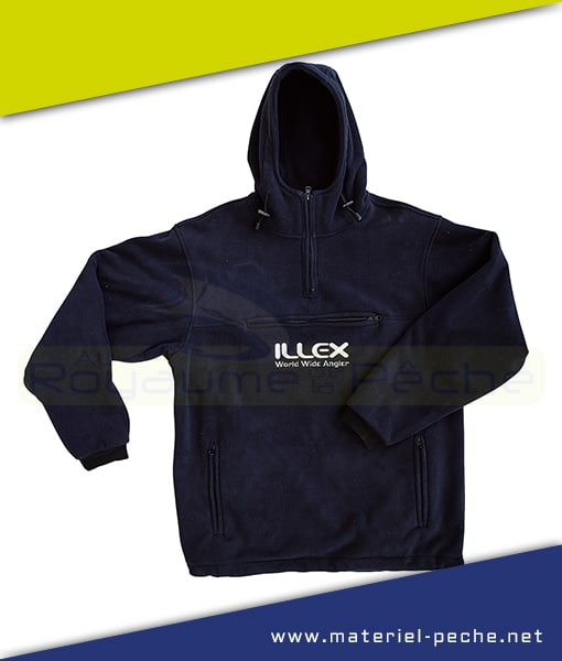 SWEAT POLAIRE ILLEX FLEECE HOODED TOP