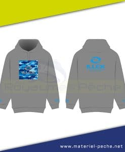 SWEAT CAPUCHE ILLEX SEA CAMO
