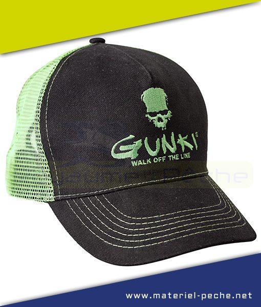 CASQUETTE GUNKI TRUCKER BLACK