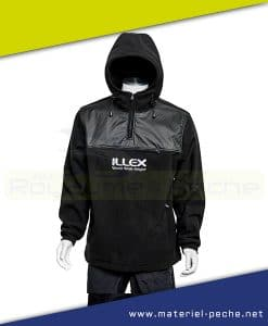 FLEECE HOODED TOP ILLEX